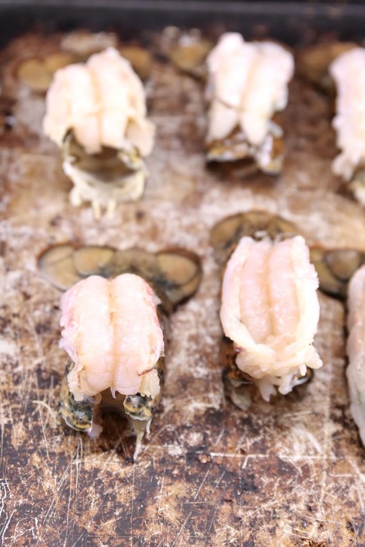 Butterflied Lobster Tails