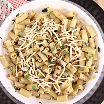 Sesame Pasta Salad in a bowl