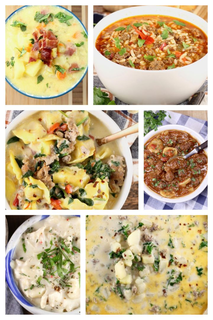 30 Best Soup Recipes collage