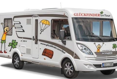 Glückfinder Andreas Gregori auf Deutschland Tour