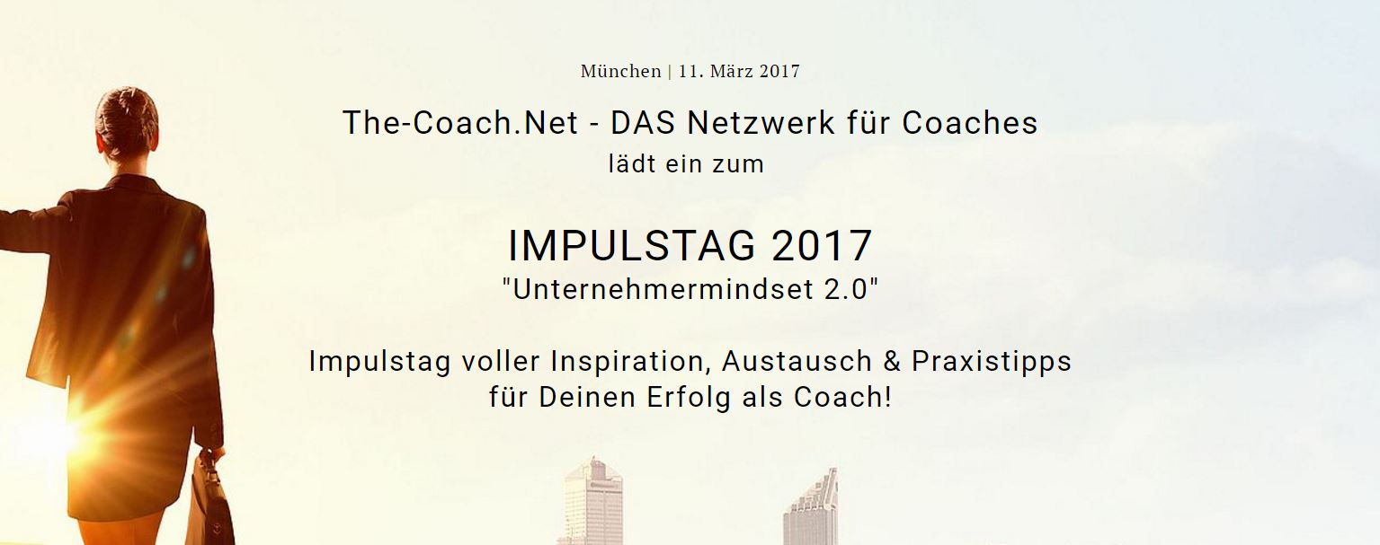 Coach Success - Impulstag 2017