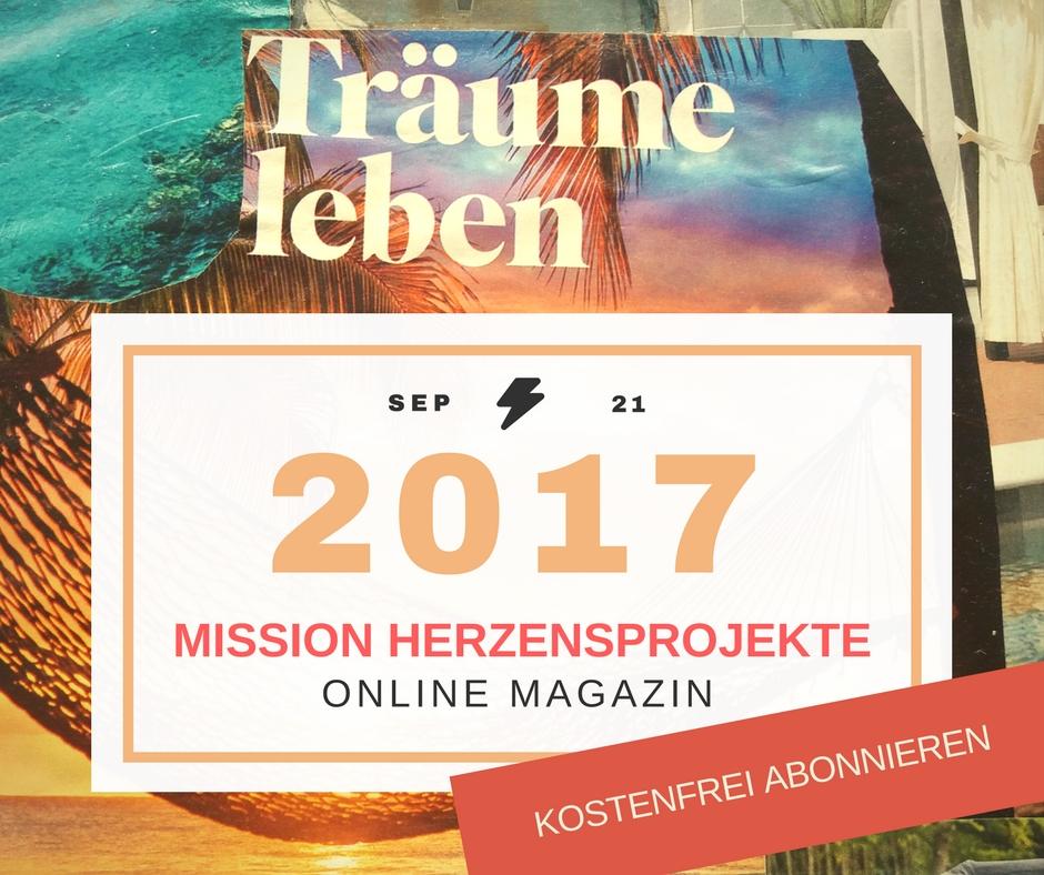 September Ausgabe 2017 Ankündigung