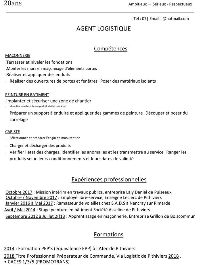 Cv 00132018 Mission Locale Du Pithiverais
