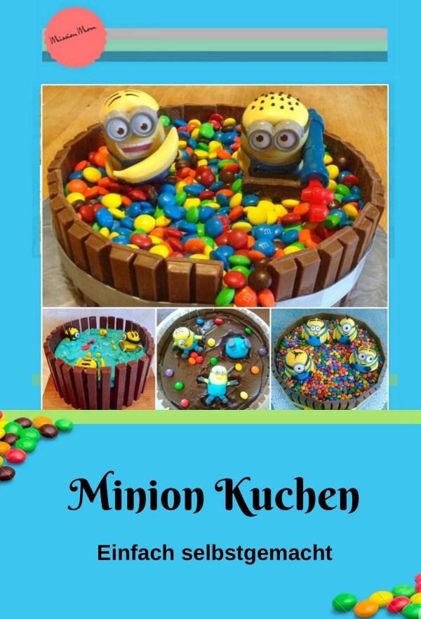 einfacher Minion Kuchen backen….so gehts!, Mission Mom