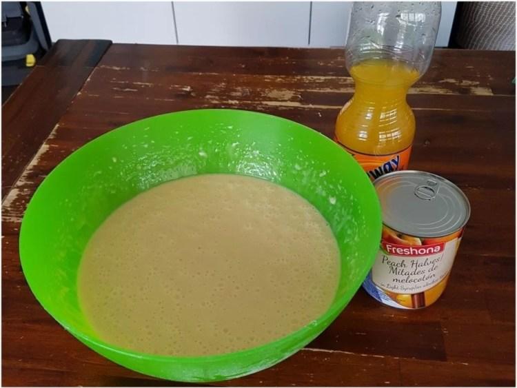Muffins mit Pfirsich