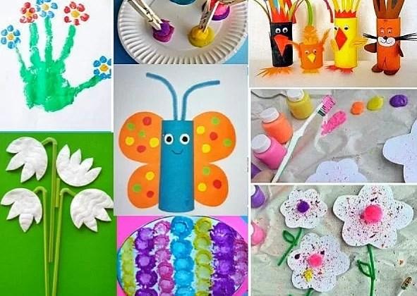 Favorit Basteln mit Kindern im Frühling und für Ostern * Mission Mom NX19
