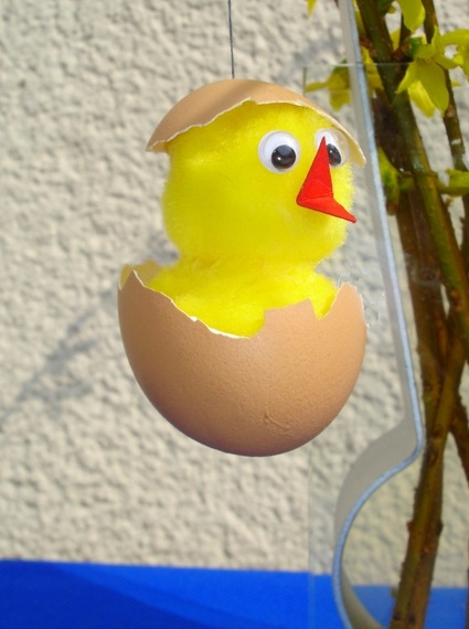 Küken basteln Ostern kinder