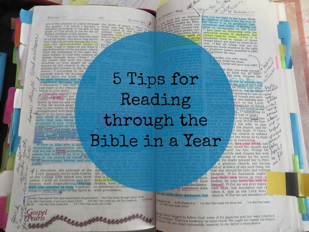 Bible Study Tools And Tips