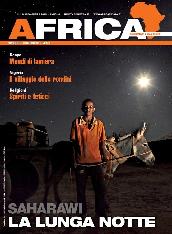 Copertina Africa rivista n°3 2015