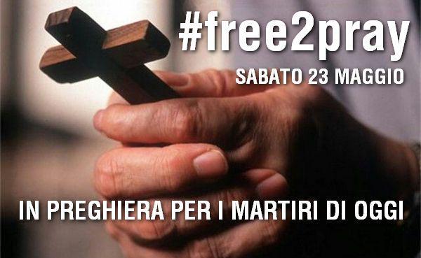 23maggio preghiera cristiani