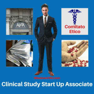 Il ruolo del Clinical Study Start Up Associate