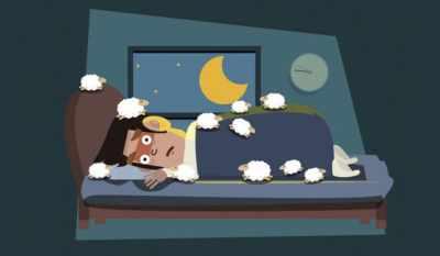 Smartphone e insonnia? Notti passate a contare pecore