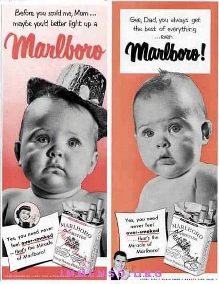 pubblicità sigarette