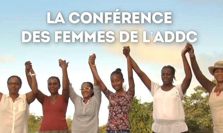 Conférence des femmes des ADDC Avril 2015