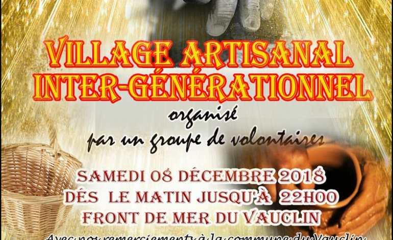 Village artisanal inter-générationnel – Samedi 8 Décembre 2018