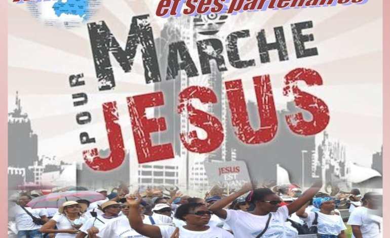 Marche pour Jésus – Samedi 24 Novembre 2018