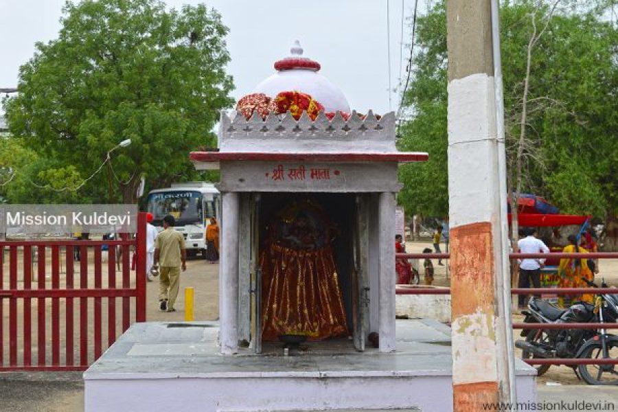 Sati Mata at Ashapura Mata Temple Nadol Pali