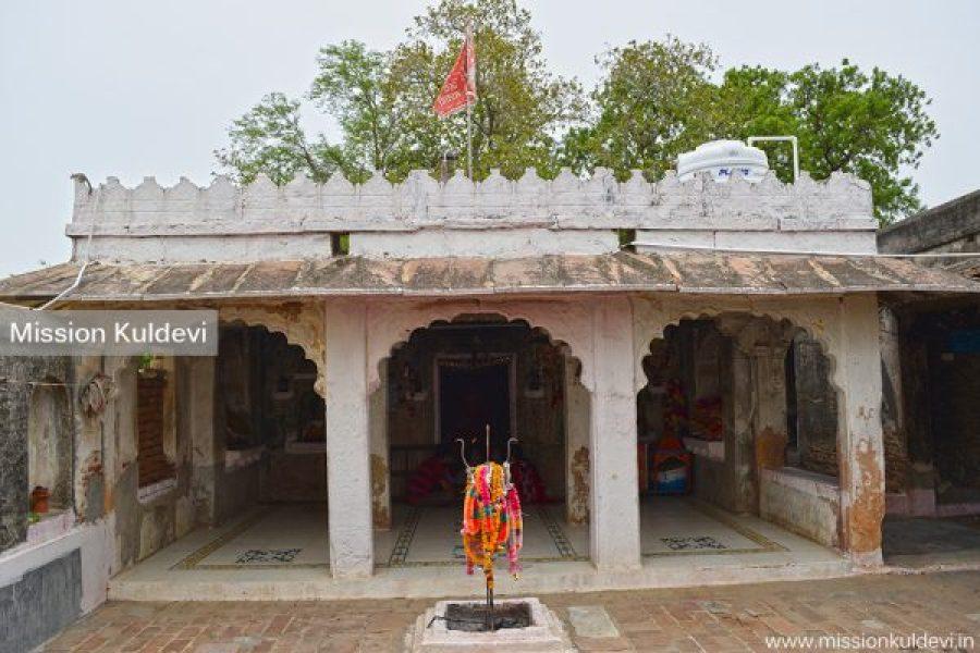 Inside Sugali Mata Temple - Auwa (Pali)