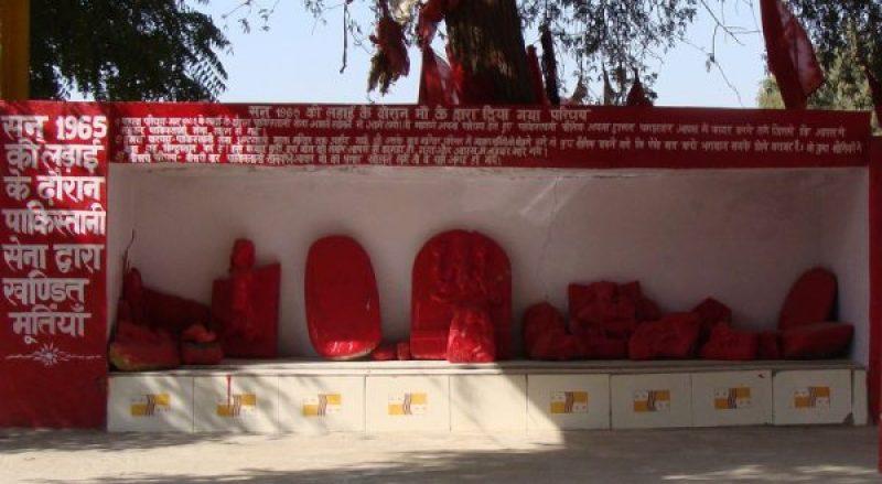 Broken Idols at Ghantiyali Mata Temple