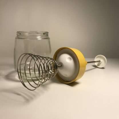 Manual whisk with Jar