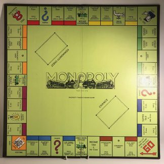 mission modern monopoly board and box j0169a