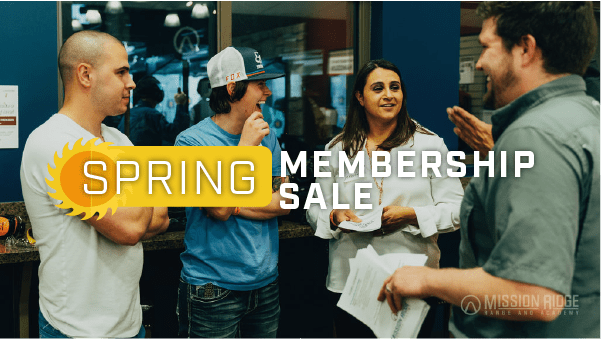 Spring Membership Special Mission Ridge Range And Academy