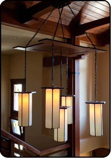Large Foyer Pendant Light. this fixture is from micheal berman ...