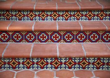 hand painted tile santa monica ca