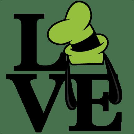 Download Love Goofy Ears Title SVG scrapbook cut file cute clipart ...