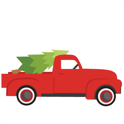 Christmas Truck With TreeSVG scrapbook cut file cute ... (432 x 432 Pixel)