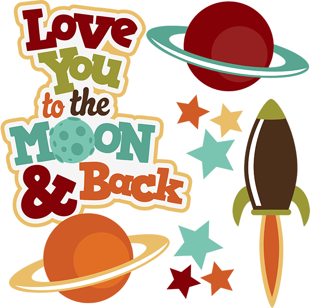 Download Love You To The Moon & Back SVG space svg outer space ...
