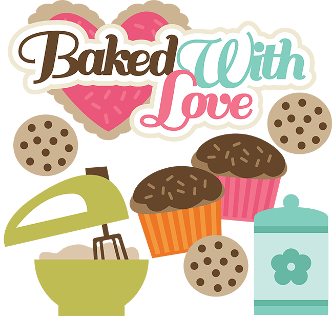 Download Baked With Love SVG files for cutting machines cupcake svg ...