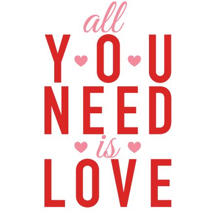 Download All You Need Is Love Valentine Subway Art scrapbook cuts ...