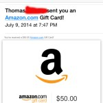 I can never have too many gift cards!