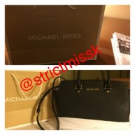 Super cute Michael Kors bag from one of My real time pets.