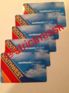 $500 in SW Airlines gift cards from My white monkey boy.