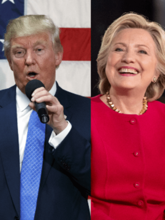 Donald Trump and Hillary Clinton square off in the second Presidential Debate of 2016