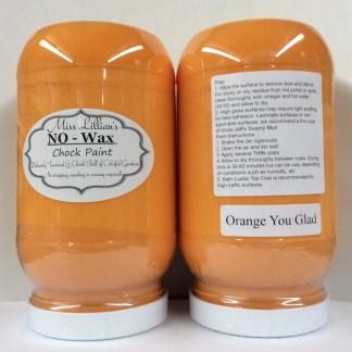 Chock Paint - Orange You Glad