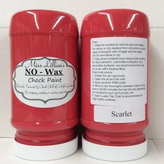 Chock Paint - Scarlet