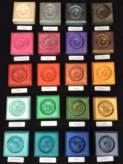 Metallic Glaze Precious Gem Series - All colors and bottles
