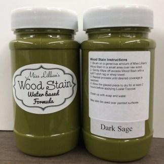Wood Stain - Dark Sage