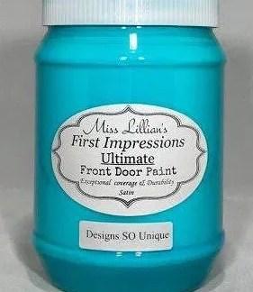 Front Door Paint - Desgins SO Unique