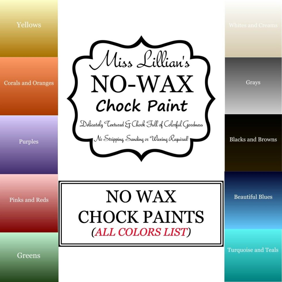 Miss Lillians Chock Paint All Colors