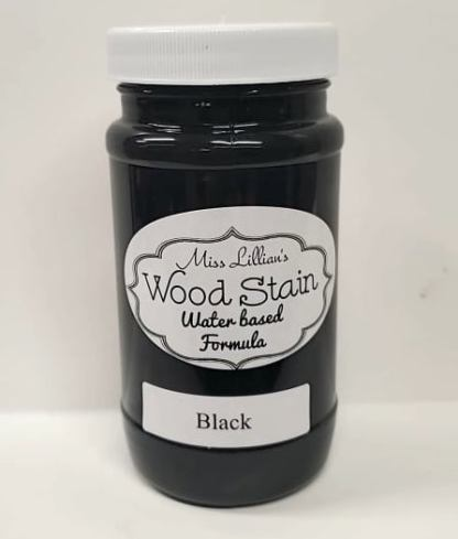 Wood Stain - Black