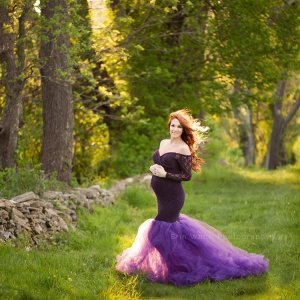 Tulle Maternity Gown, Baby Shower Dress, Maternity Dress for Photoshoot, Maternity Gown photography