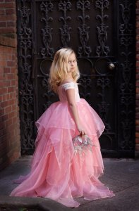 Brooklyn Girls Gown, Flower Girl Dress, Princess Dress, mommy & me