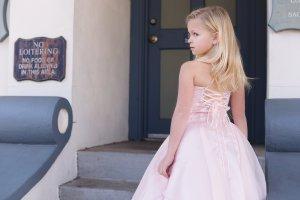 Skylar Girls Gown, flower Girls dress, first communion, mommy & me