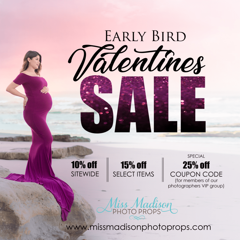Early Bird Valentines Day Sale