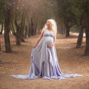 maternity dresses, chiffon maternity dress, Ombre Chiffon, maternity dresses for photoshoot, maternity dresses for photography, baby shower dresses, maternity gown, halter, chiffon, ombre, jersey,
