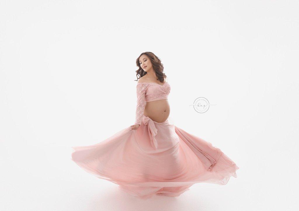 wrap around skirt, chiffon, maternity photography, photoshoot, baby shower, bridesmaid